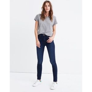 "Madewell | 10"" High Rise Skinny Jeans"